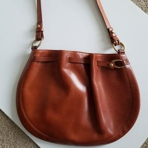 Vintage Bally Cognac Leather purse.